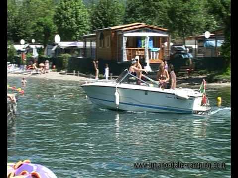 International sport camping Luganomeer Porlezza Italie