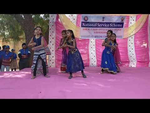 CHAK DHUM : STD 3 GIRLS - NSS CAMP - DAY 6