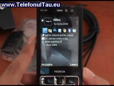 Nokia N95 8GB review ( romanian )
