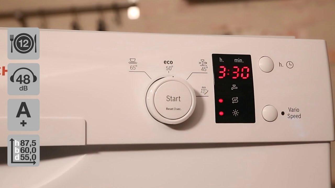 Bosch smu m sk opvaskemaskine youtube