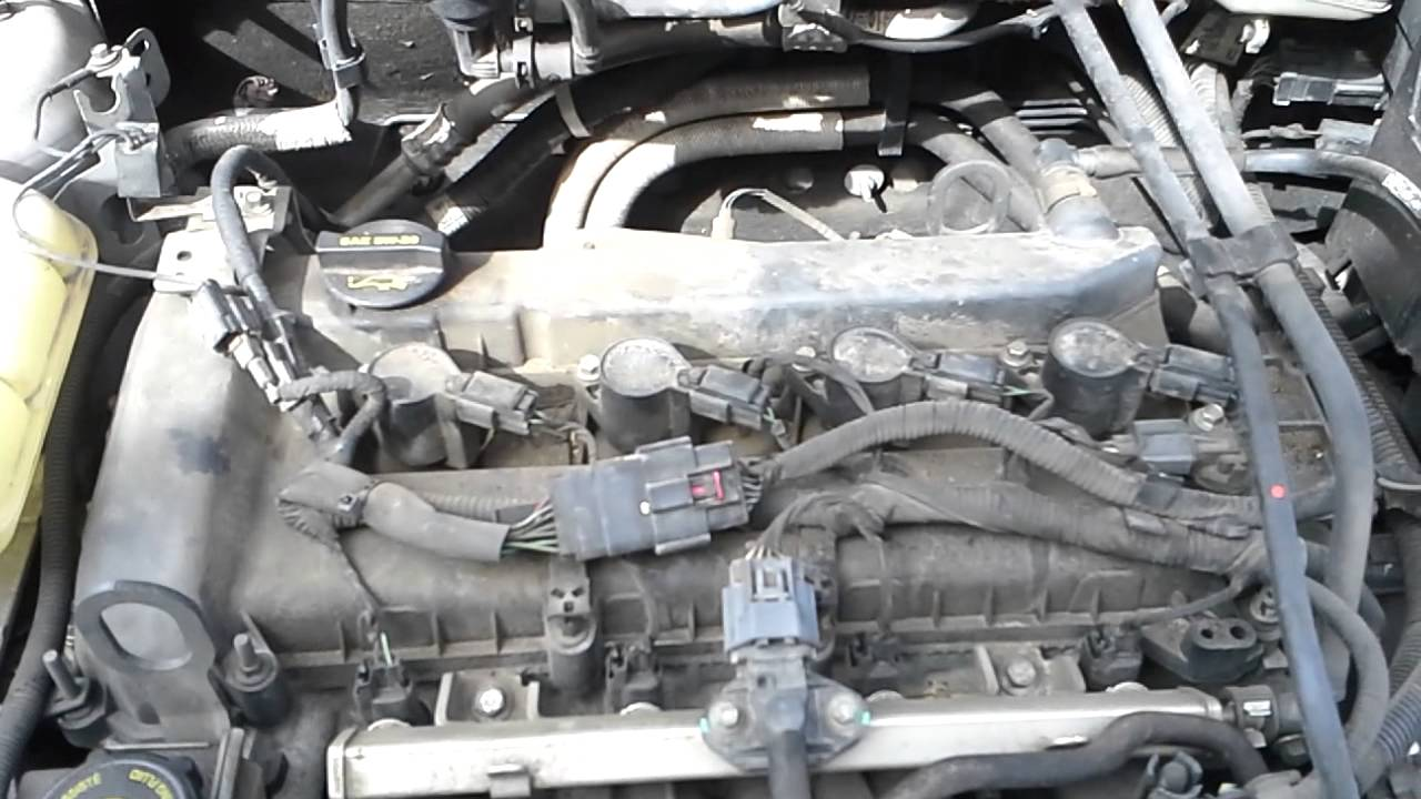 ford focus spark plug change youtube