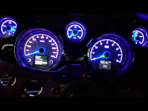 Dakota Digital HDX Gauges On A 1967 Mustang