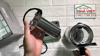 Trên tay bình siêu tốc pha trà WMF Kitchen Minis Glass Kettle Vario có thiết lập nhiệt độ