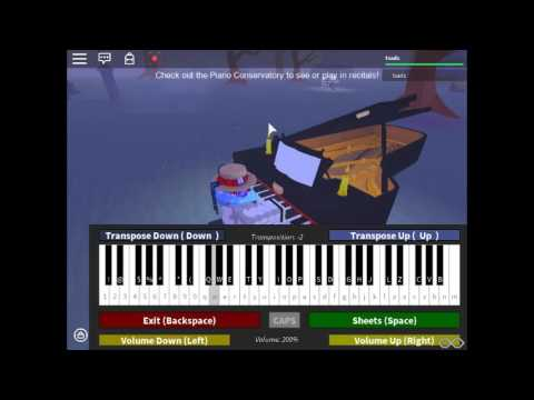 Roblox Piano Faded By Alan Walker Advanced Youtube