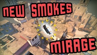 New smokes on the updated Mirage (2018)