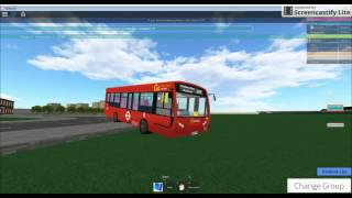 Roblox GoAhead Londra East London Bus Simulator Route 287