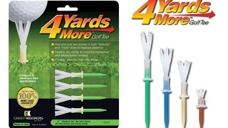 Gain 4 More Yards with these Golf Tees