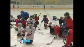 Александр Харламов провёл в Кондопоге мастер-класс по хоккею