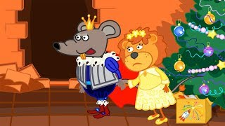 Lion Family 🦁 Nutcracker and the Mouse King 👪 Cartoon for Kids