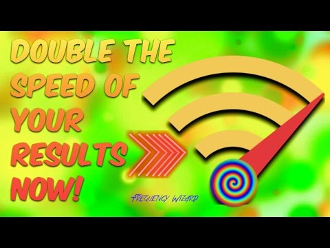 DOUBLE THE SPEED OF YOUR RESULTS NOW! Works for ALL Formulas & Channels!