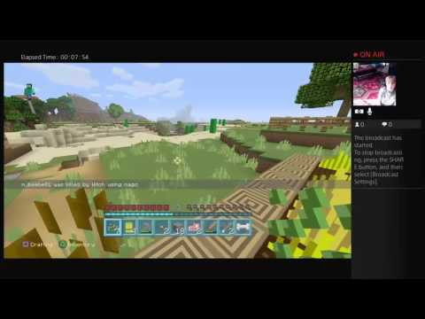 Mincraft part 1 with tony connor and me
