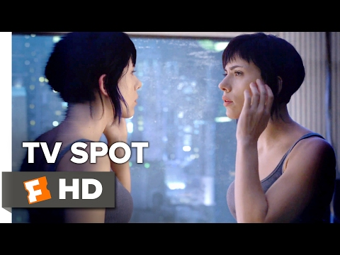Ghost in the Shell TV SPOT - Anything (2017) - Scarlett Johansson Movie