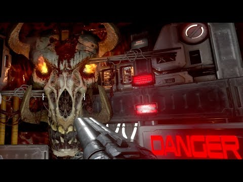 How Ironic... He Returns Again but on Earth!! Doom SnapMap Gameplay! 04 Bloody Hell on Earth!