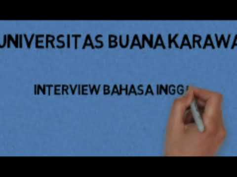 Contoh Interview Bahasa Inggris Youtube
