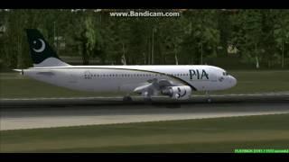 Pakistan A320 Islamabad International Airport OPRN Landing FS9