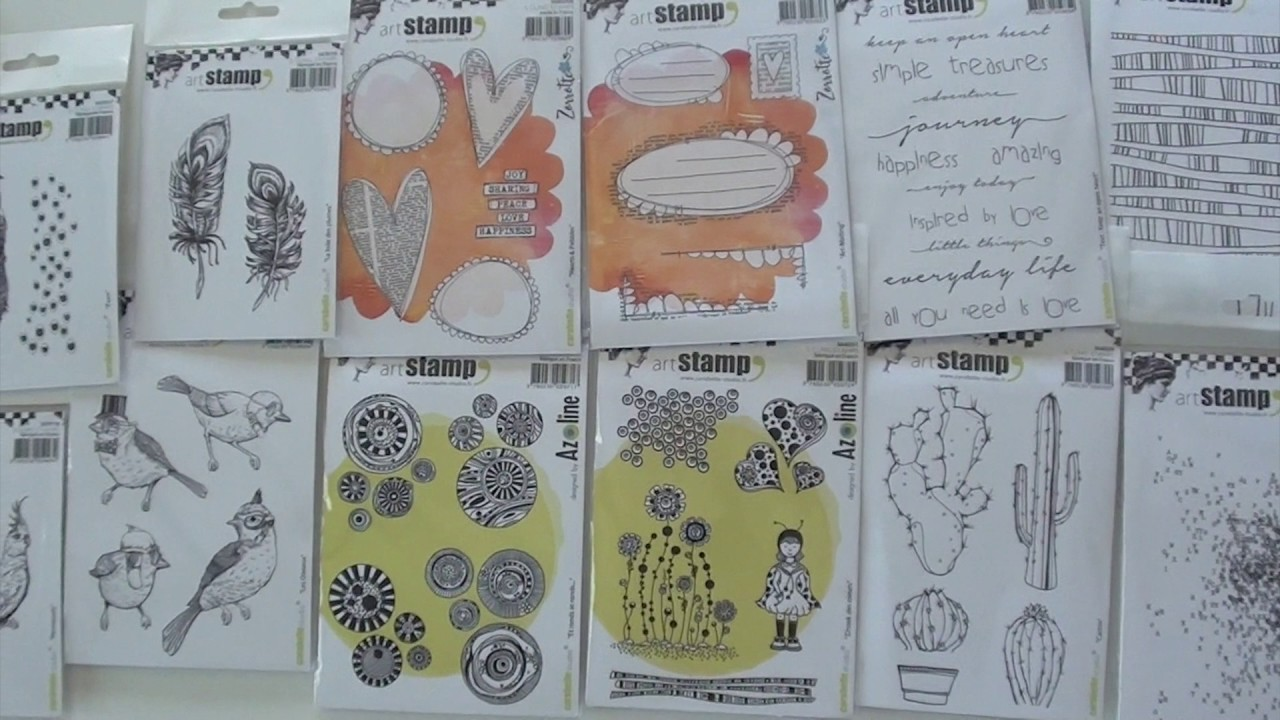 Carabelle Studio and Hero Arts stamps