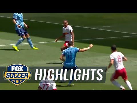 New York Red Bulls vs. New York City FC | 2017 MLS Highlights