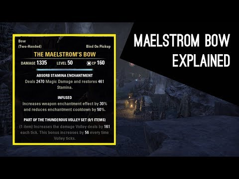Maelstrom Bow explained, how does it work - Dragon Bones DLC