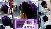 2017 Mens Hair Purple Highlights Men S Hair Colour Styling For Summer Youtube