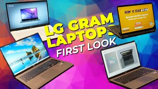 LG Gram Laptops: First Look at LG's Refreshed Lightweight Laptops