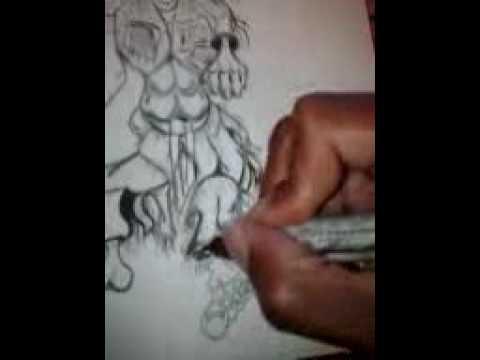 """""""drawing at gino's east"""""""