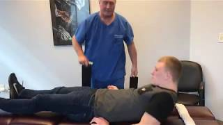 Palmer College of Chiropractic New Student Visits Houston Chiropractor Dr Gregory Johnson