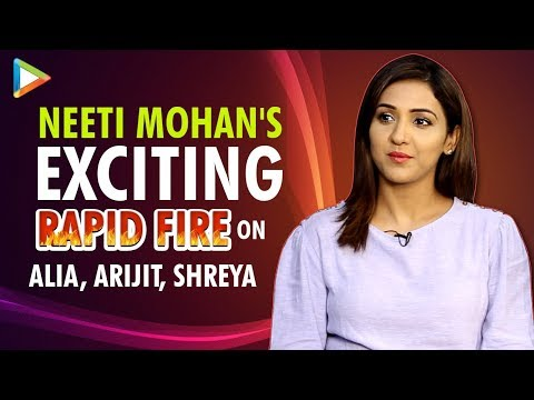 Neeti Mohan's Most Honest Rapid Fire  Biggest Achievement  Hardest Song  Arijit  Shreya