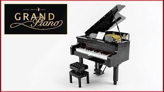 LEGO Ideas 21323 Grand Piano Speed Build - Brick Builder