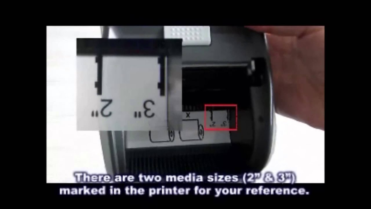 how to connect cp125nu printer