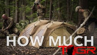The Most Expensive Military Tent in the World   Nemo The ALCS 1P SE