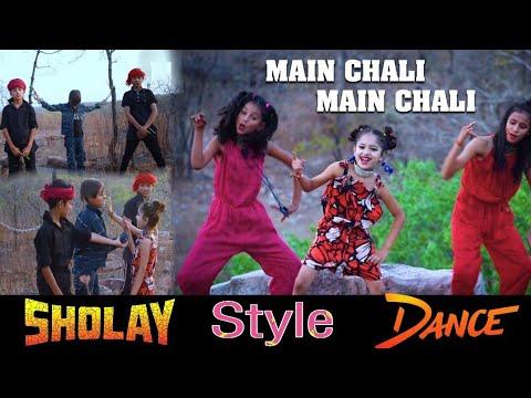 Mein Chali | Urvashi Kiran Sharma Dance Sholay Style