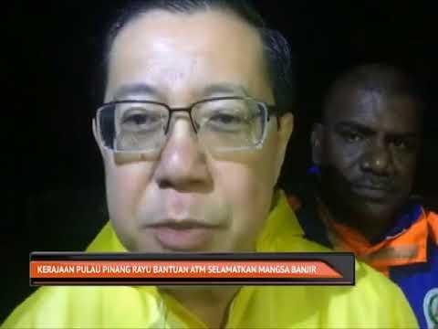 Banjir - Pulau Pinang mohon bantuan ATM