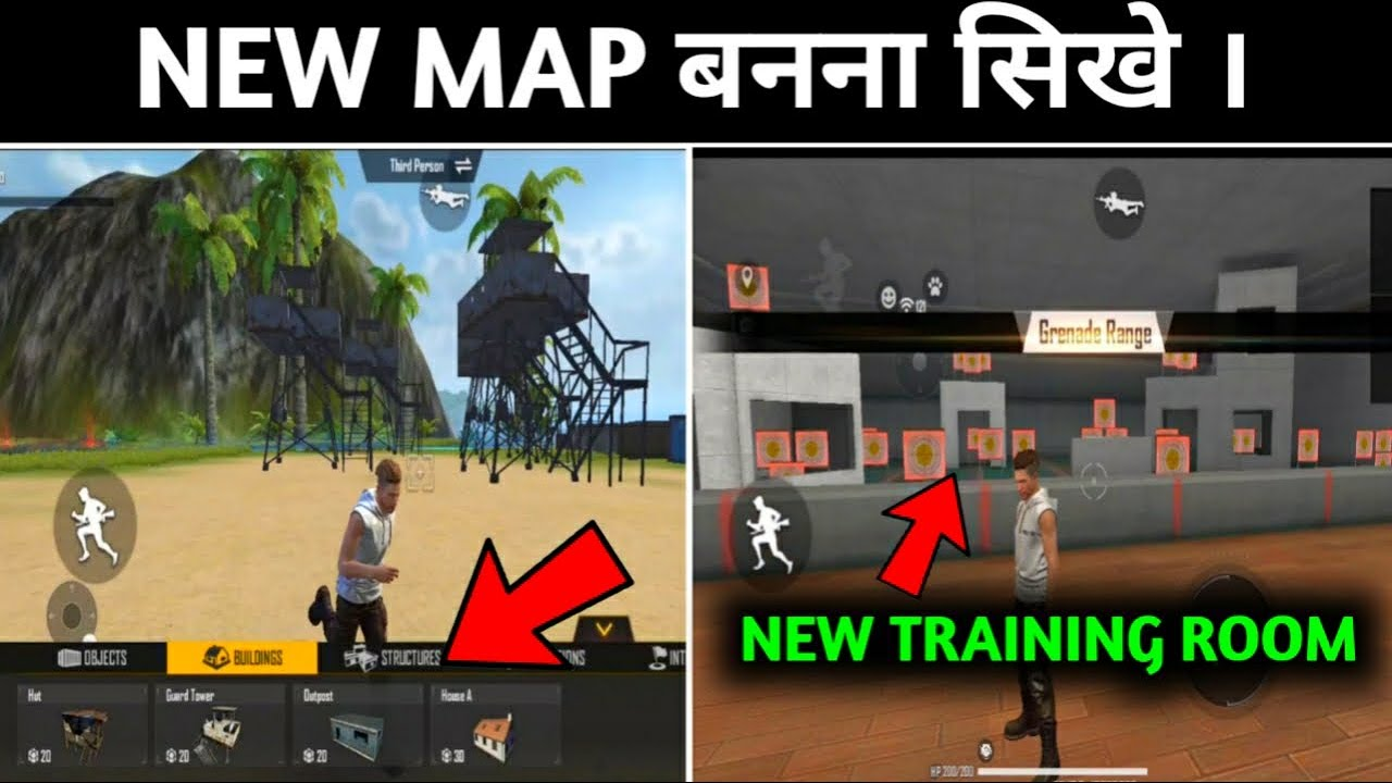 HOW TO CREATE CRAFTLAND MAP ?NEW TRAINING ROOM 😲|