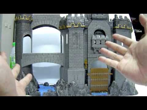 2008 Jakks Pacific Chronicles of Narnia Prince Caspian - Deluxe Castle Playset Toy Review