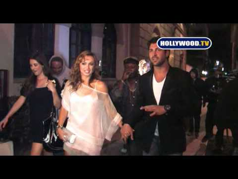 Derek, Karina, Maksim and Shannon Of Dancing With The Stars Leave Blvd3