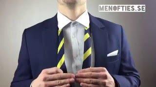 Hur man knyter en slips - Snabbt & Enkelt