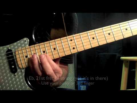 Ratt - Round & Round solo - Guitar Lesson