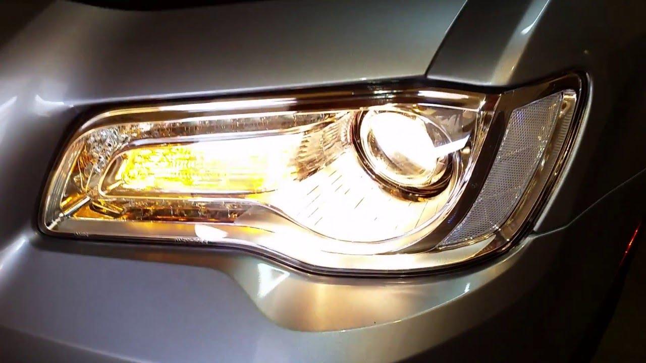 2011 2017 Chrysler 300 Sedan Testing Headlights After