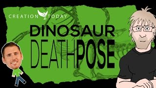 Creation Today Claims - Dinosaur Death Pose