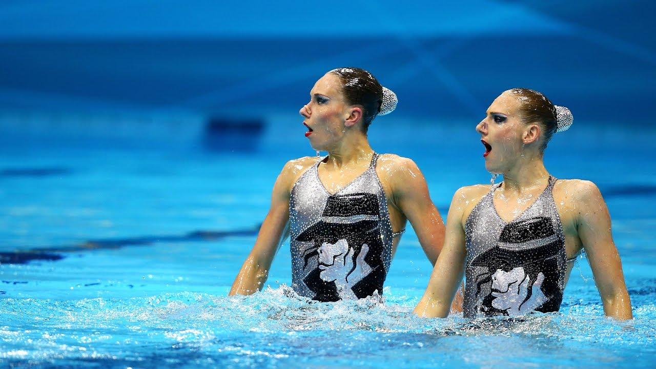 Nuoto Sincronizzato Olimpiadi Londra 2012 Duo Tecnico Russia Con Musica Originale