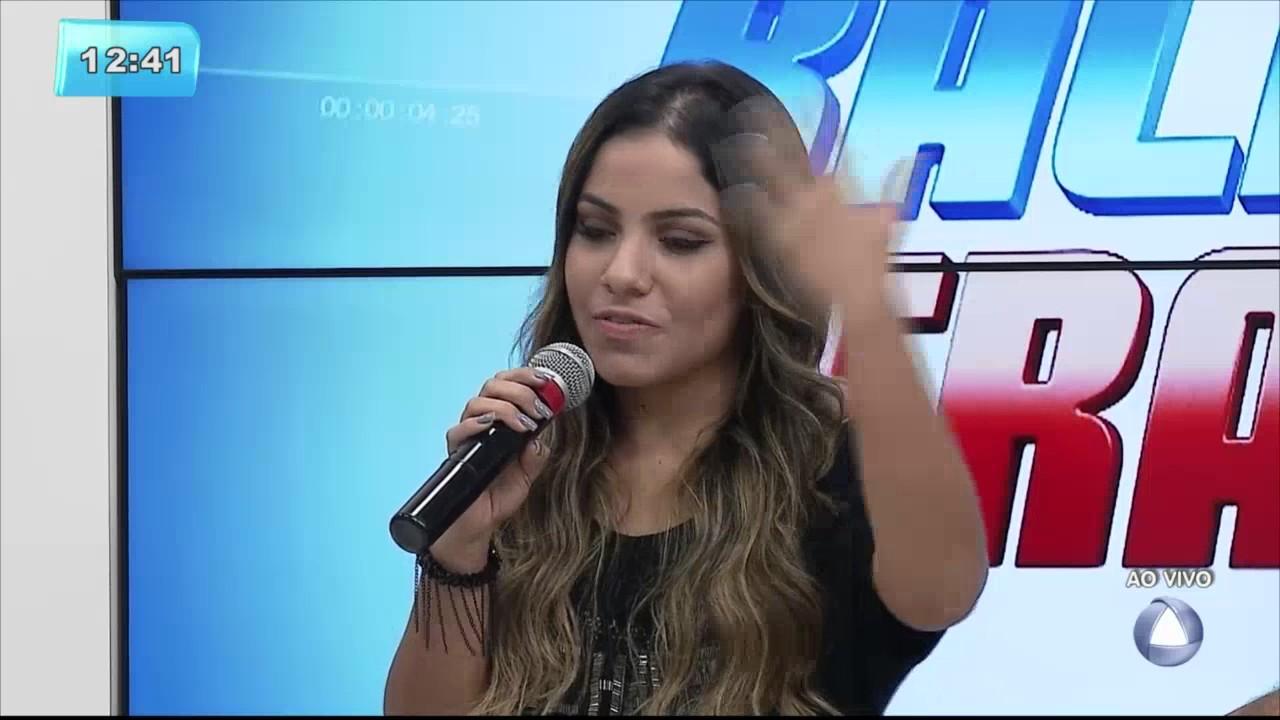 Cantora gospel Gabriela Rocha canta no Balanço Geral! - Balanço Geral Sergipe