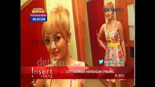 Penampilan Siti Badriah Setelah Rambutnya Berwarna Pirang