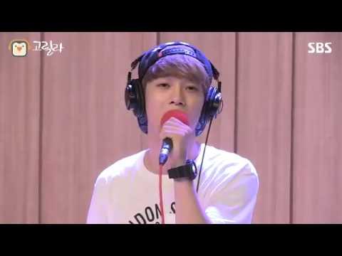[SBS]영스트리트, 첸의 보고싶다 라이브