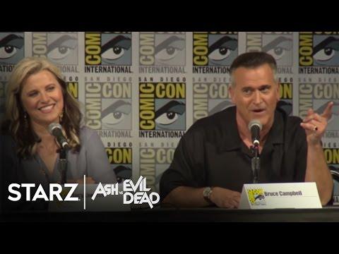 Ash vs Evil Dead | 2016 San Diego Comic-Con Panel | STARZ