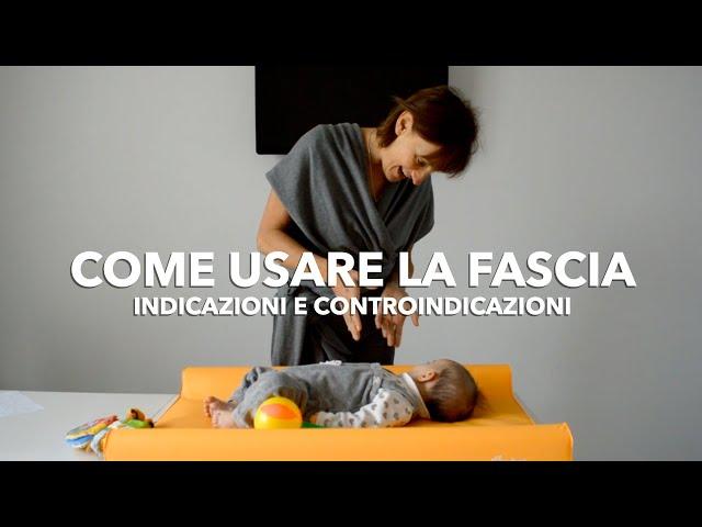 Come usare la fascia per neonati: indicazioni e controindicazioni