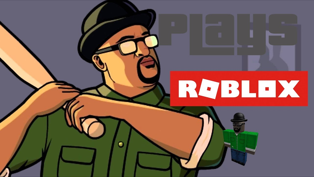 Big Smoke Plays Roblox Youtube