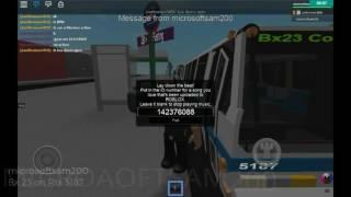 Roblox Mta bus company Nova bus Rts #51## on the Bx30
