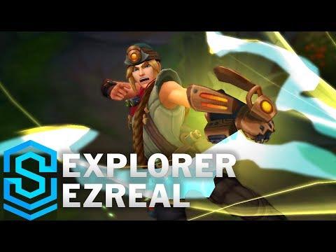 Explorer Ezreal (2018) Skin Spotlight - Pre-Release - League of Legends