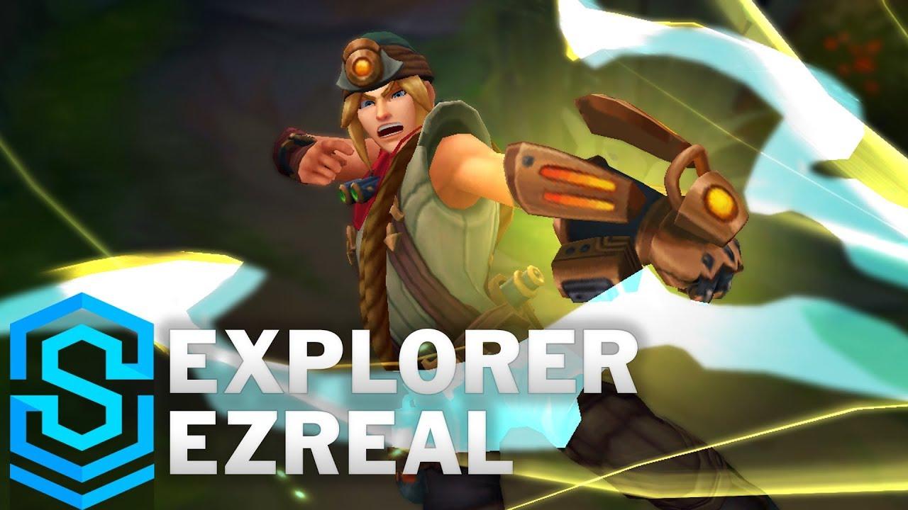 Explorer Ezreal (2018) Skin Spotlight - Pre-Release ...