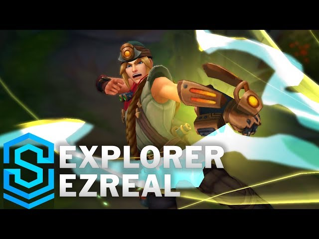 Explorer Ezreal (2018) Skin Spotlight - Pre-Release - League of Legends